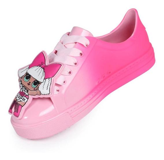 Tenis Lol Colors Infantil Lançamento - Rosa - Ref. 22125