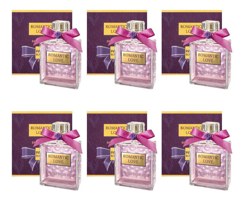 Paris Elysees Romantic Love Perfume Fem 100ml (kit C/06)
