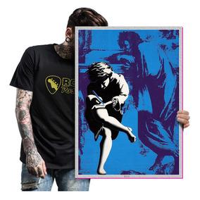 Placas Rock Blues Legend Guns N Roses Axl Roses Slash A2 19