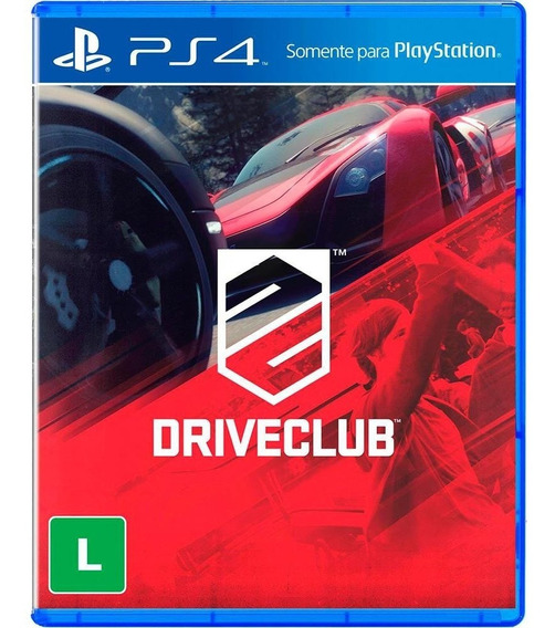 Driveclub - Ps4 - Mídia Física - Novo