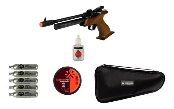 Pistola Pressão Co2 Cp1-m Madeira 5.5mm + Acessório + Óleo