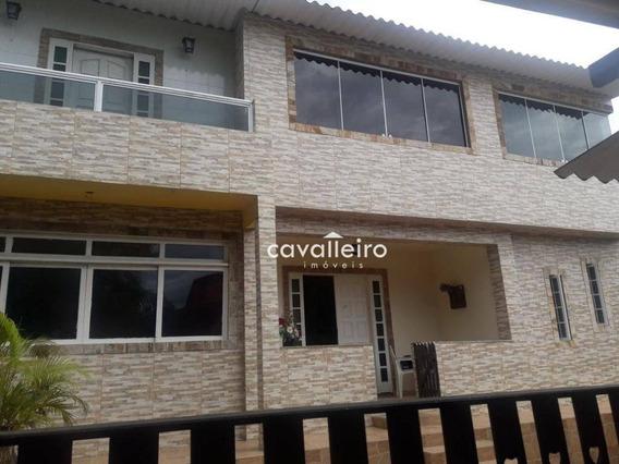 Casa Residencial À Venda, Jardim Interlagos (ponta Negra), Maricá. - Ca2956