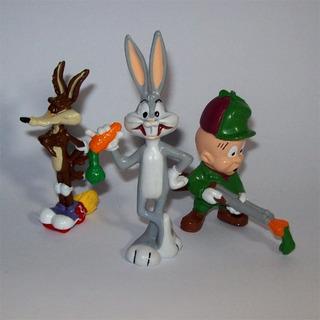 3 Figuritas Looney Tunes Promo Soprole Años 80