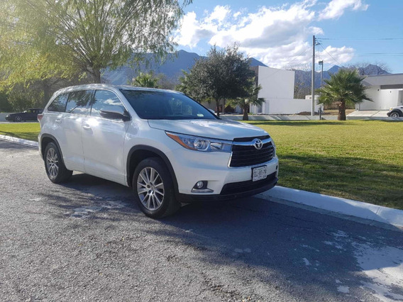 Toyota Highlander Limited Panormaica 2014 De Cochera