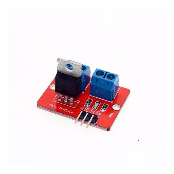 Llave Mos Fet Driver Irf520 Raspberry Arduino Pack X2 A0060