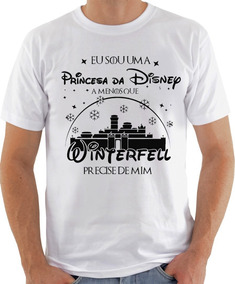Camiseta Infantil Masculina Feminina Winterfell Precise 1195