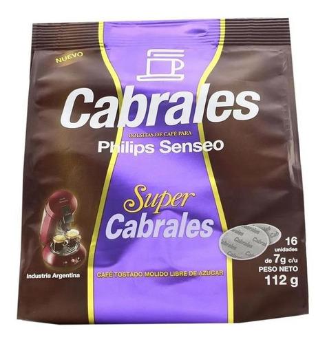 Imagen 1 de 7 de Cafe Cabrales Super Hd1280 Philips Senseo Capsula