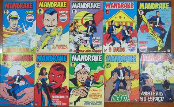 Mandrake - Lote C/ 34 Gibis Sem Repetição