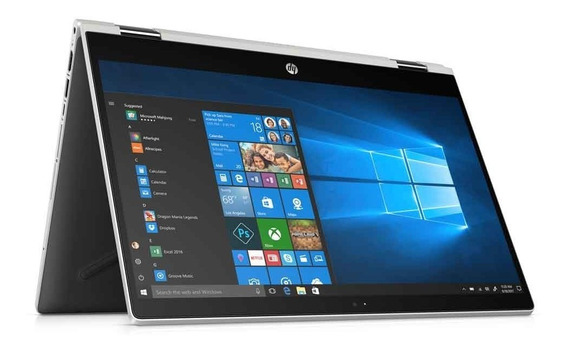 Notebook Hp X360 Touch 14-cd0005la I3 4gb 1tb Win 10 Cuotas