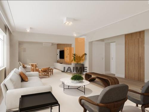 Apartamento Totalmente Reformado A Venda No Jardim Paulista - Ja16492