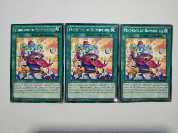 3x Vendedor De Brinquedos Yu-gi-oh