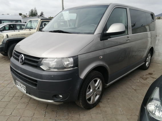 Volkswagen Transporter Ejecutivo Cuero 2.0 Full Aut Año 2014