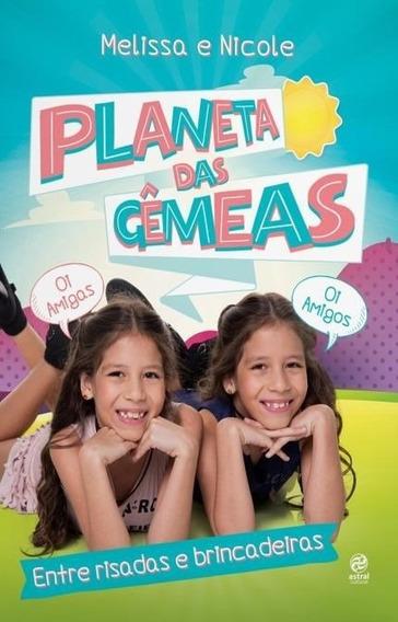 Livro Planeta Das Gêmeas - Entre Risadas E Brincadeiras