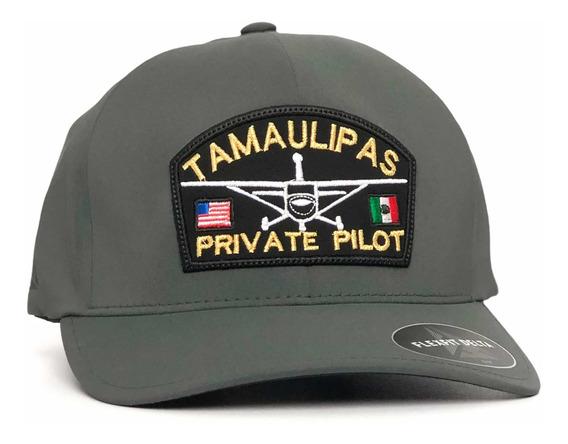 Gorra Flexfit Delta Tamaulipas Private Pilot Varios Colores