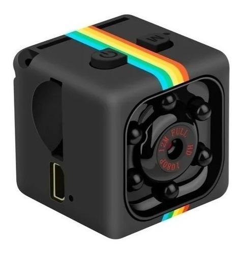 Imagem 1 de 5 de Mini Micro Câmera Filmadora Espiã Noturna Sq11 Full Hd 1080p