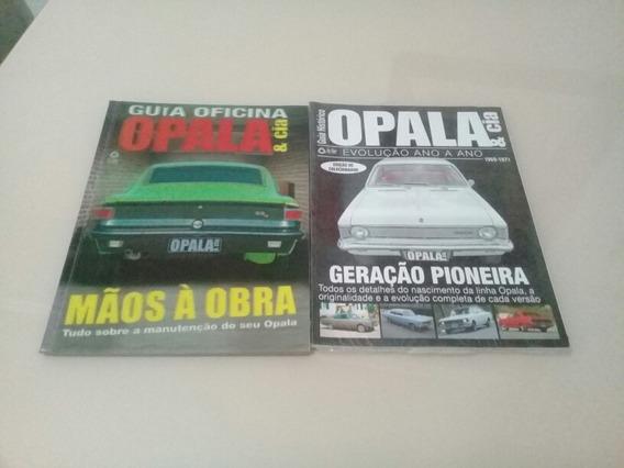 Lote 2 Revistas Opala E Cia Evolução E Guia Oficina