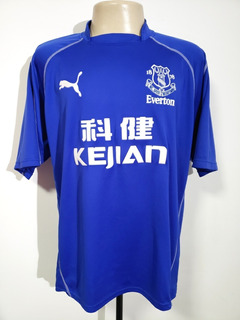 Camisa Futebol Oficial Everton Inglaterra 2002 Home Puma Gg