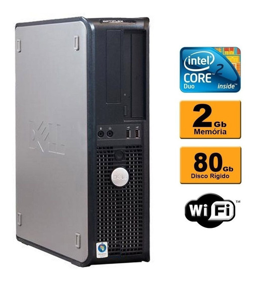 Pc Dell 2gb Hd 80 Core 2 Duo