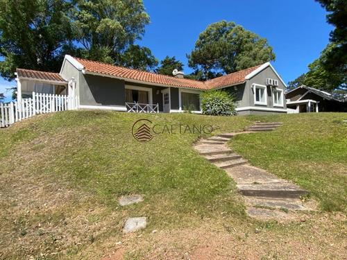 Hermosa Casa En Barrio Privado, Punta Del Este- Ref: 2792