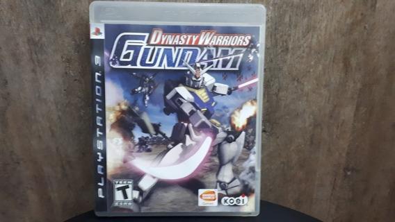 Dynasty Warriors Gundam Ps3 Seminnovo Leia Anúncio