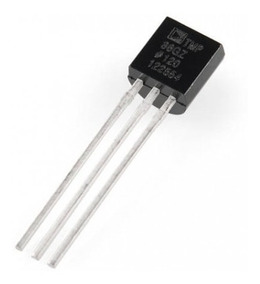 Kit 3x Sensor Medidor Temperatura Tmp36 Arduino Pic Tmp36gz