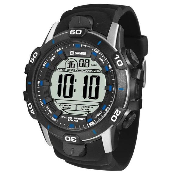 Relógio Masculino Preto Xgames Xmppd457