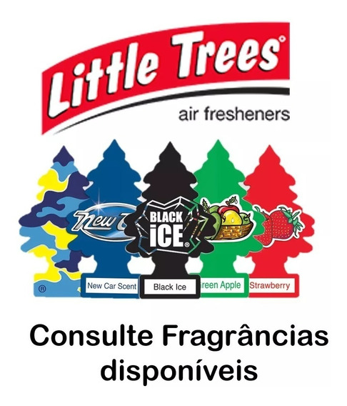 Aromatizante P/ Carro Little Trees - 10 Unids - Frete Grátis