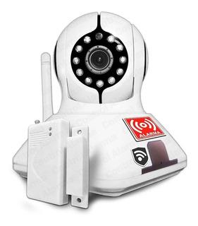 2 En 1 Cámara Ip Y Alarma Hd Wifi P2p 1 Sensor Pv