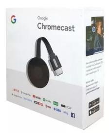 Chromecast 3 Hdmi Edição 2019 Original Google 1080