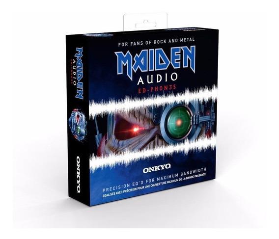 Fone Iron Maiden Onkyo Bose Akg Ed-ph0n3s Oficial Cd Dvd Vin