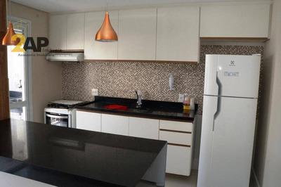Apartamento Com 2 Dormitórios Para Alugar, Mobiliado Por R$ 2.500/mês - Vila Andrade - São Paulo/sp - Ap1384