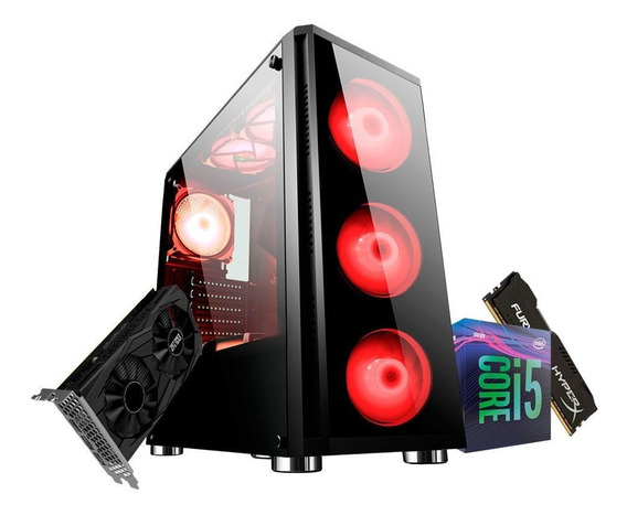 Pc Gamer Intel Core I5 9400f Gtx 1650 4gb 8gb Ram Ssd 480gb