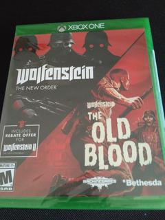 Wolfenstein The Two Pack Xbox One Fisico Nuevo Sellado