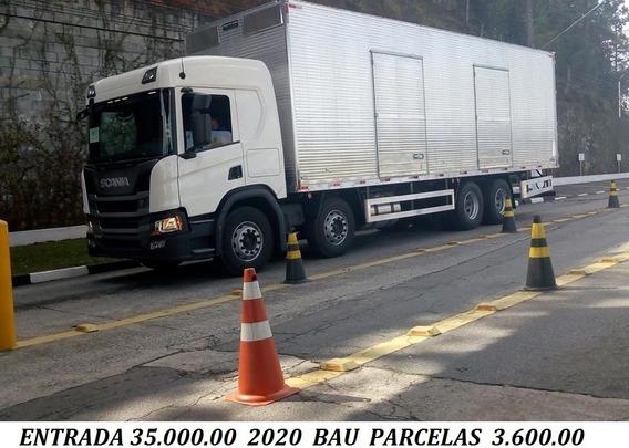 P320 Bitruck 2020 Bau E Sider Entrada 35.000.00 + Divida