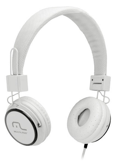 Headphone Head Fun Com Microfone P2 3,5mm Hi-fi Multilaser