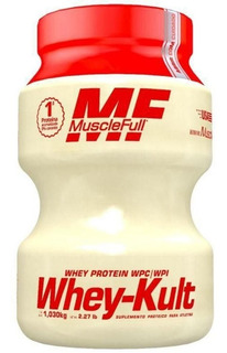 Whey-kult - 1,030 Kg - Muscle Full (wpc E Wpi)