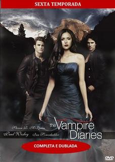Série Diários De Um Vampiro 6, 7 E 8 Temporadas Completas