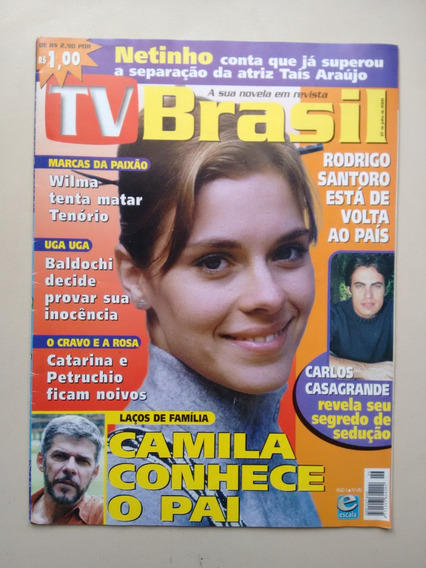 Revista Tv Brasil 26 Solange Frazão Adriana Esteves B446