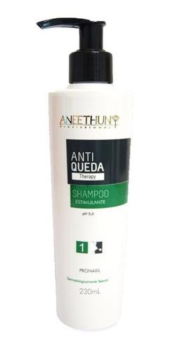 Imagem 1 de 1 de Aneethun Shampoo Antiqueda 230ml  Shampoo Estimulante