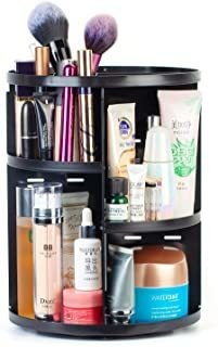 Alcora Life 360 Degree Rotating Makeup Organizer - 7 Adjusta