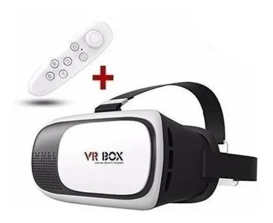 Óculos De Realidade Virtual 3d Vr Box Android +controle