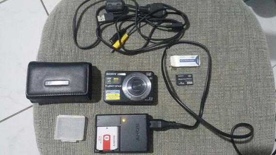 Câmera Digital Sony Cybershot 7.2mp Dsc-w125