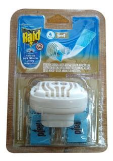 Aparato Para Tabletas Para Mosquitos Sin Cable Raid Enchufe