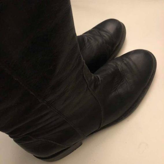 Botas De Montar De Cuero 38