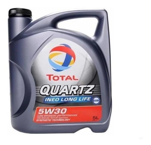 Aceite 5w30 Sintetico Total Quartz Ineo Long 5 Lt