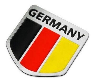 Emblema Alemanha Vw Jetta Golf Gol Fox Fusca Bmw 118 120 X1