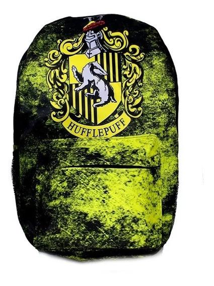 Mochila Harry Potter Casa Lufa-lufa Hufflepuf V002