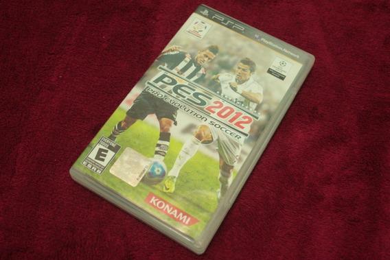 Pes Pro Evolution 2012 Original Novo Lacrado Para Psp