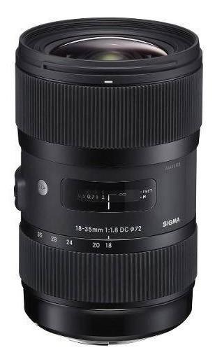 Lente Sigma Canon Dc 18-35mm F1.8 Hsm (art)