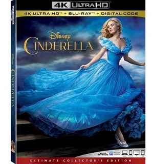 Blu-ray 4k --- Cinderella